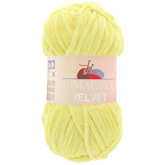 Himalaya Velvet 90002 - Világos sárga