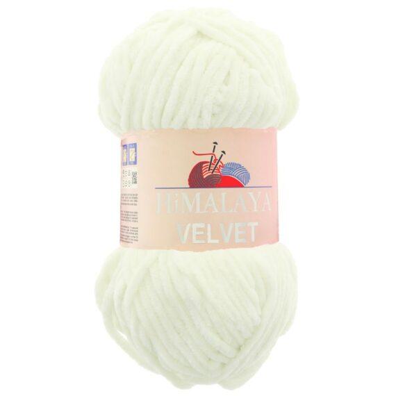 Himalaya Velvet 90008 - Törtfehér