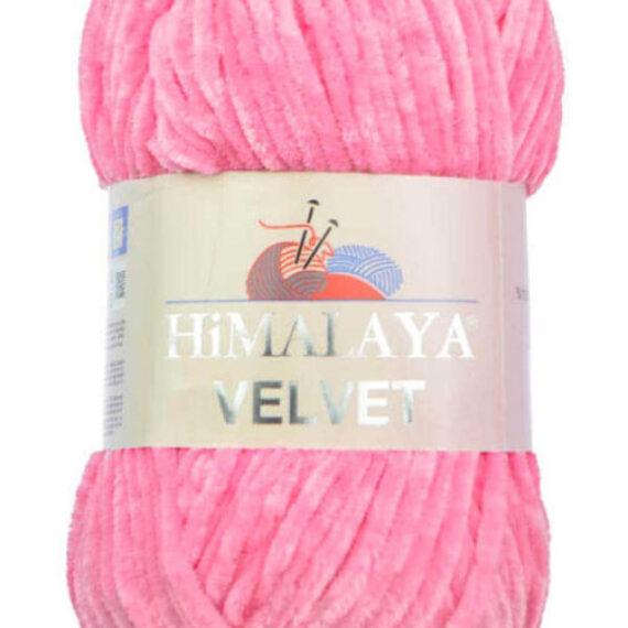 Himalaya Velvet 90009 - Élénk rózsaszín