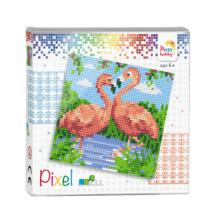 Pixelhobby flamingok